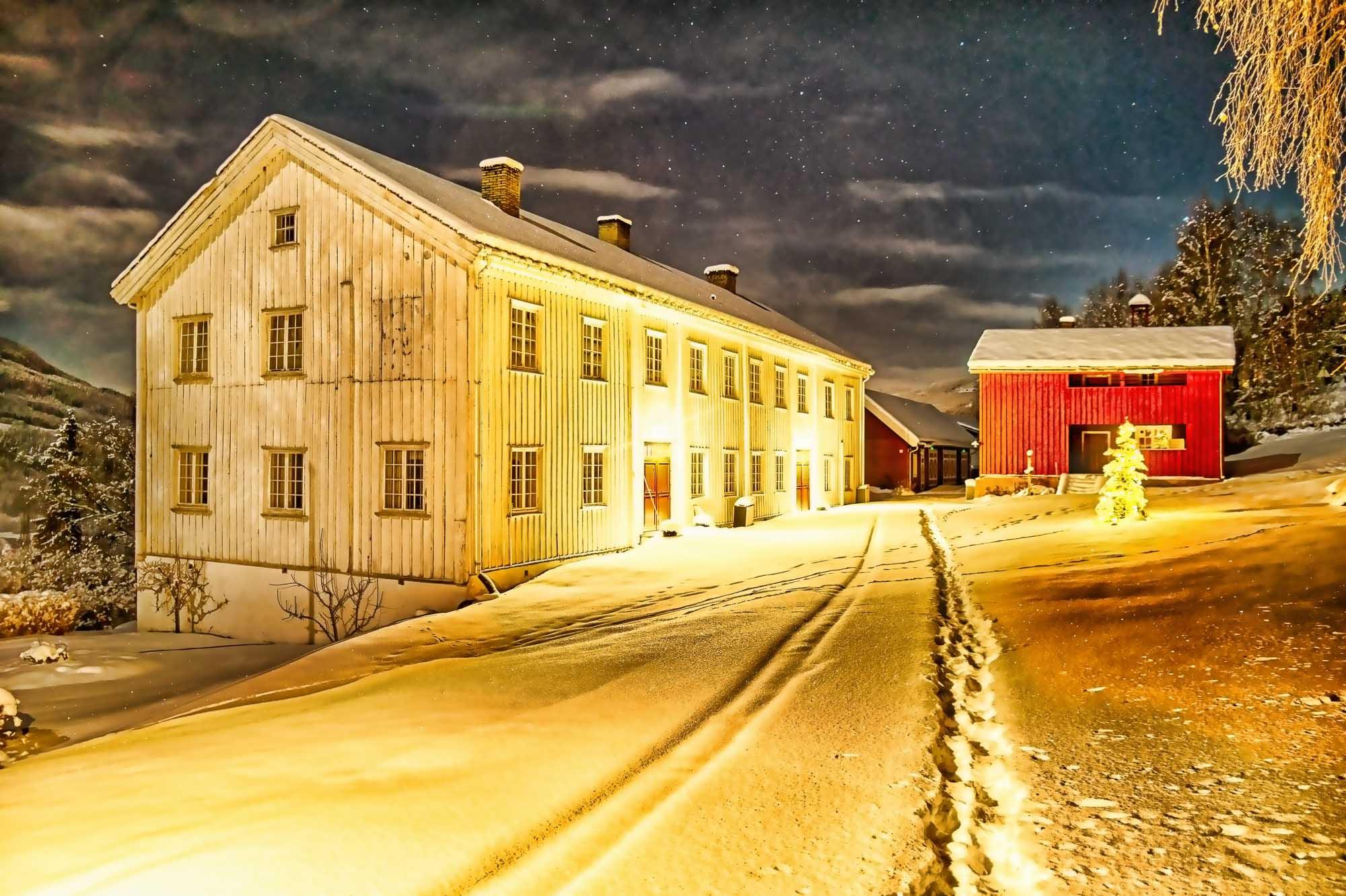 Julekortstemning ved Ringebu Prestegård 2015. Ha en fin førjulstid og en god jul:-)